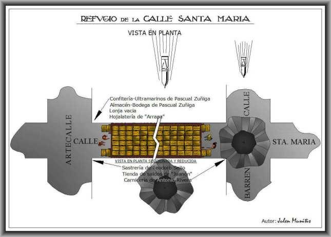 Planta refugio Santa María