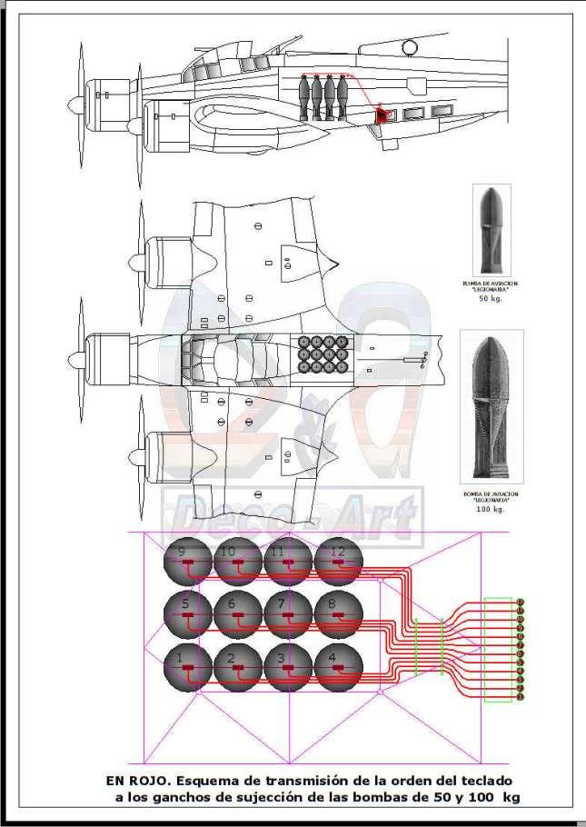 Bomba italiana 50 y 100 kg