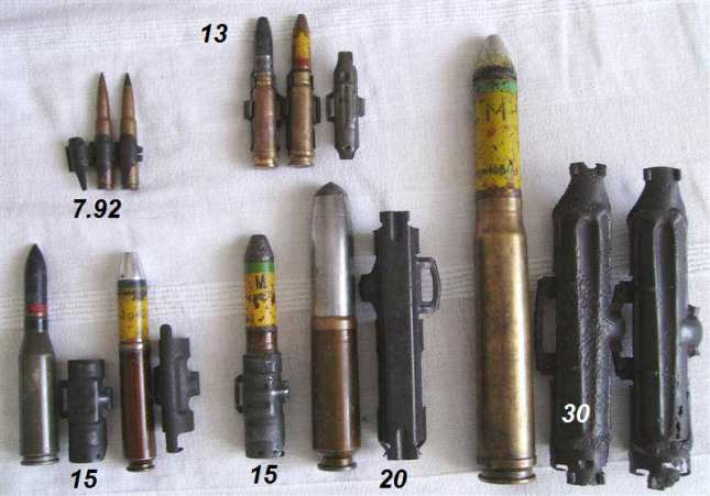 Comparativa de calibres