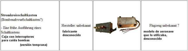 Interruptor lanzabombas